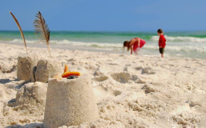 потеха пляжа стоковые фото