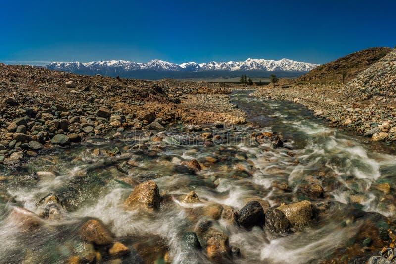 Потоки реки стоковое фото