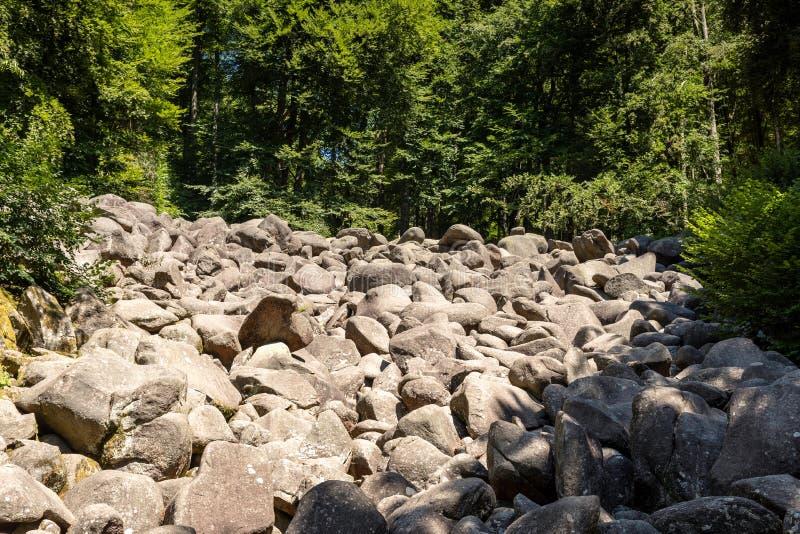 Поток Больдэра Lautertal стоковое фото
