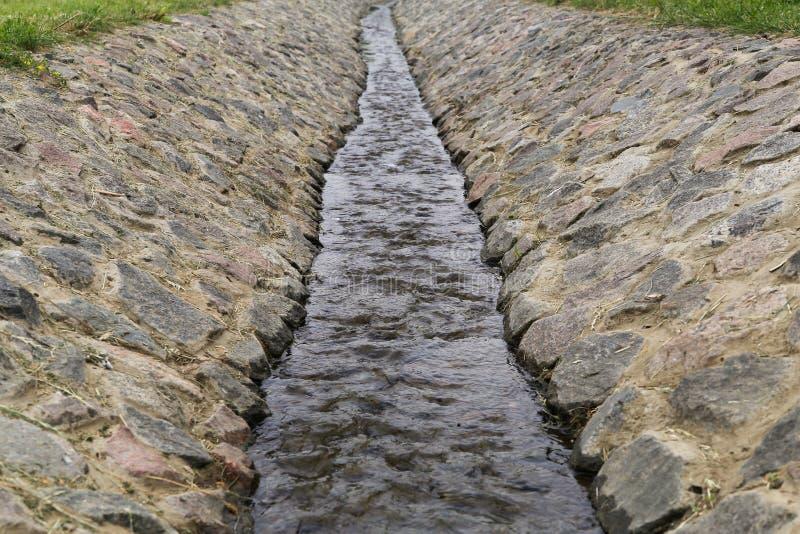 Поток выходя afar стоковая фотография rf