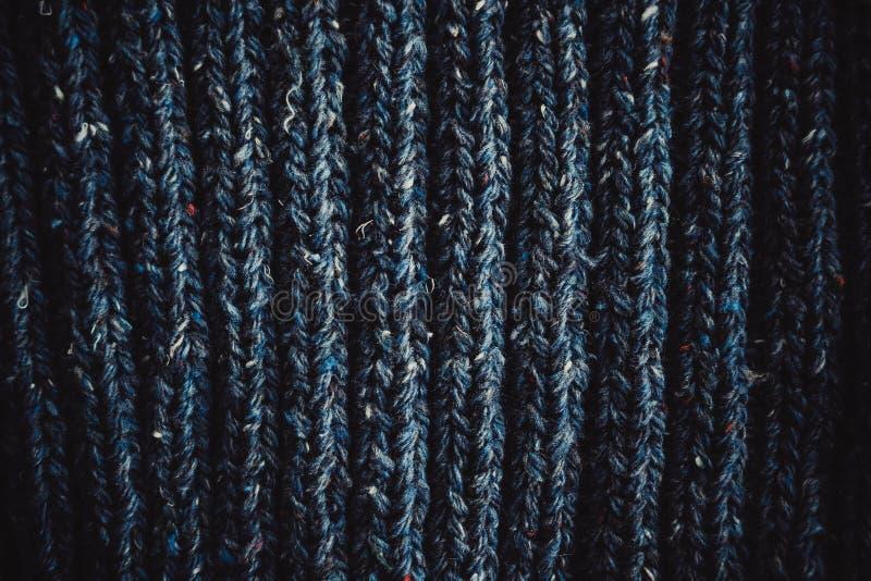 Поток петель предпосылки вязать голубой стоковое изображение rf