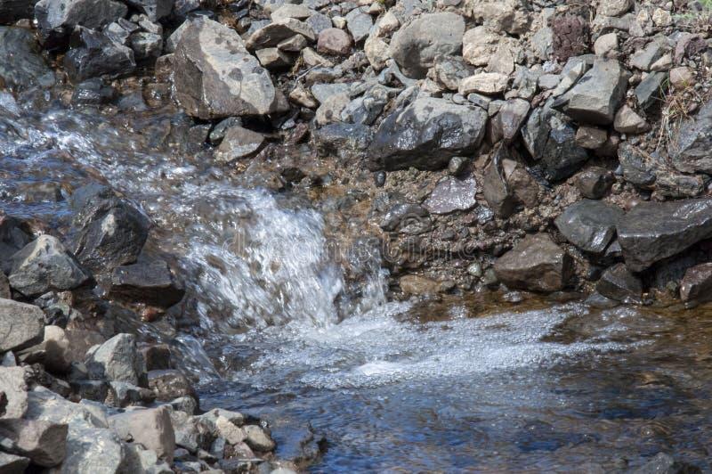Поток Smoll стоковое изображение rf