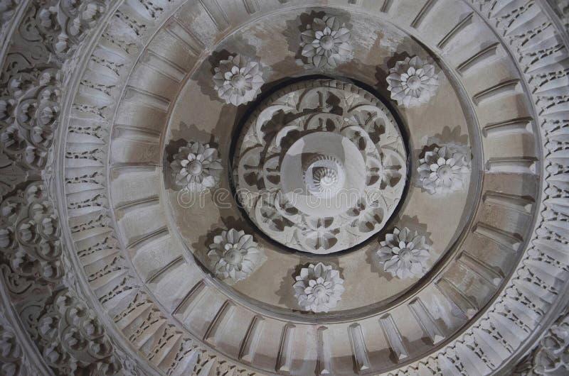 Потолок, висок Salasar Balaji, Akola, махарастра стоковое изображение rf