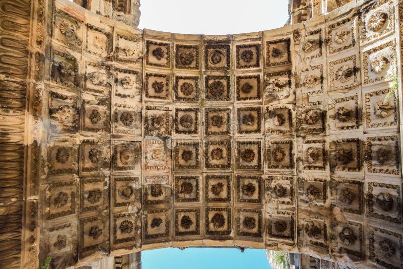 Потолок ворот свода стоковая фотография