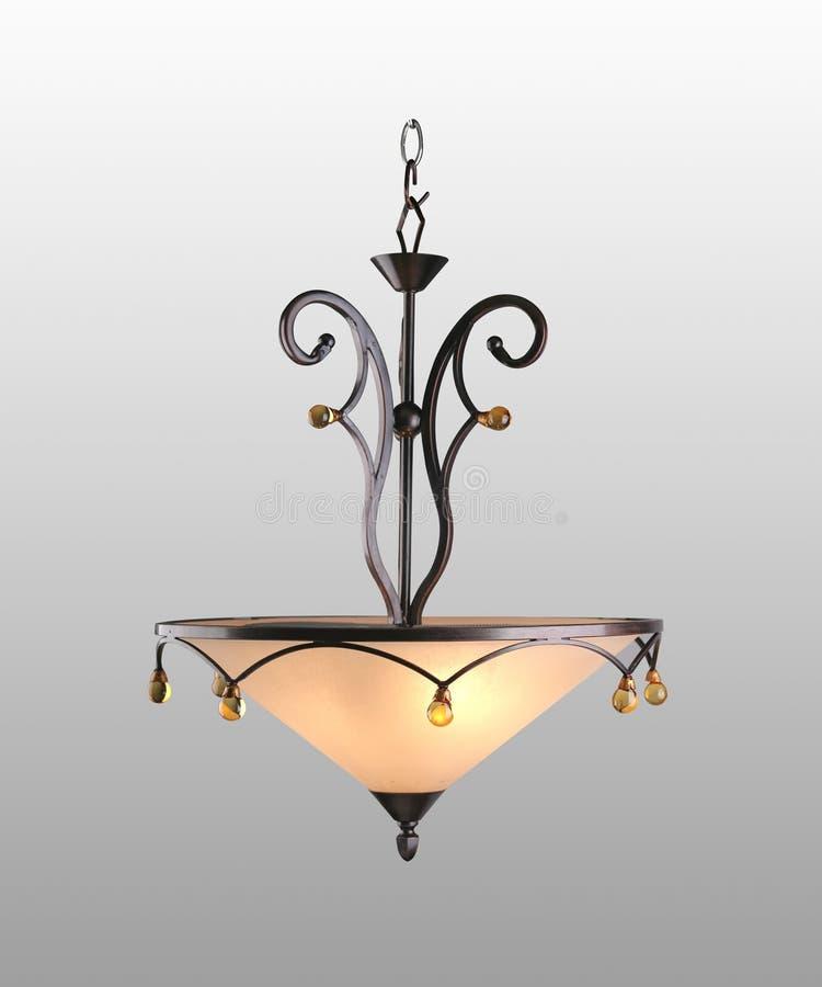 потолочная лампа иллюстрация вектора