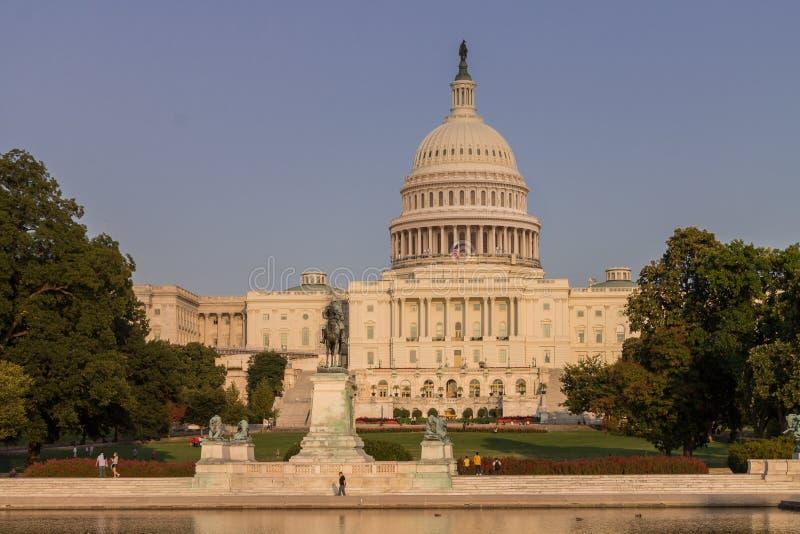 Потолок Вашингтон библиотеки конгресса стоковая фотография rf