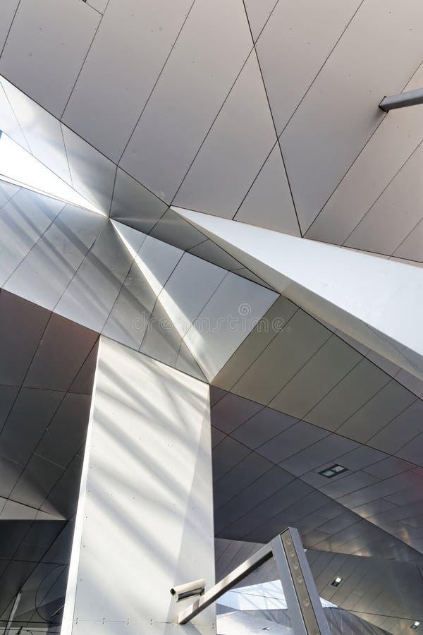 потолок здания самомоднейший стоковая фотография rf