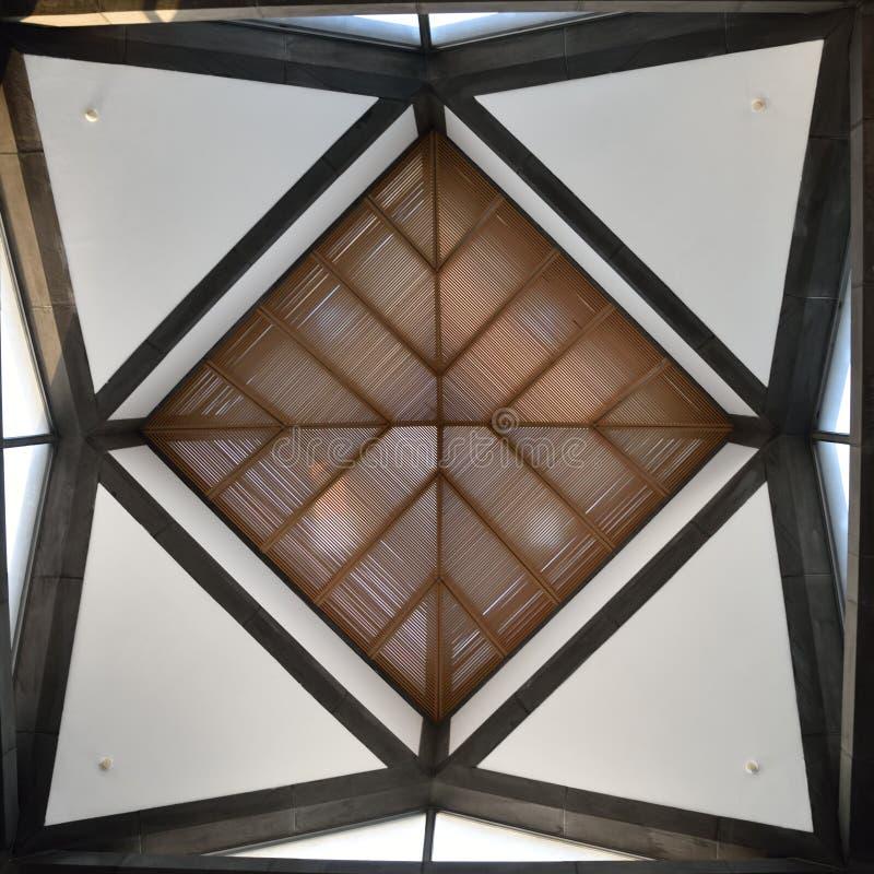 Потолок музея Сучжоу стоковое фото