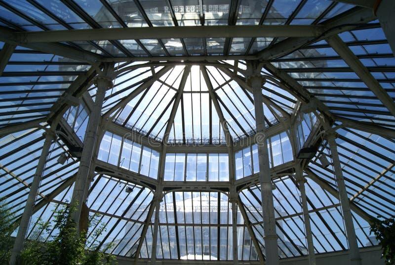 Потолок парника, королевские ботанические сады, Kew, Лондон, Англия, Европа стоковые фотографии rf
