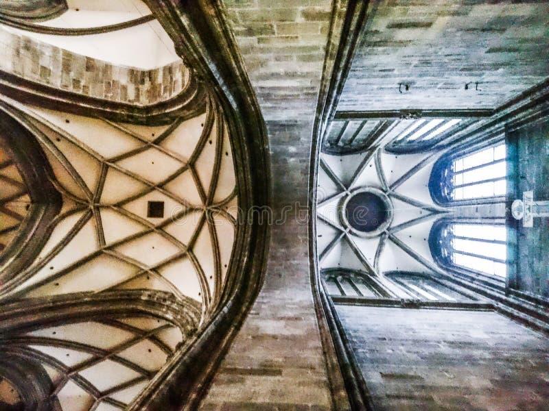 Потолок собора St Stephens стоковая фотография