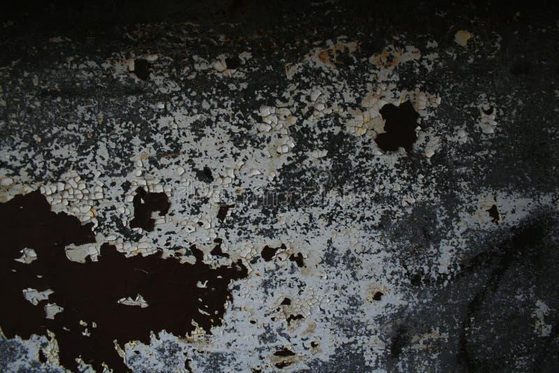 потрескиванная grungy краска стоковое изображение
