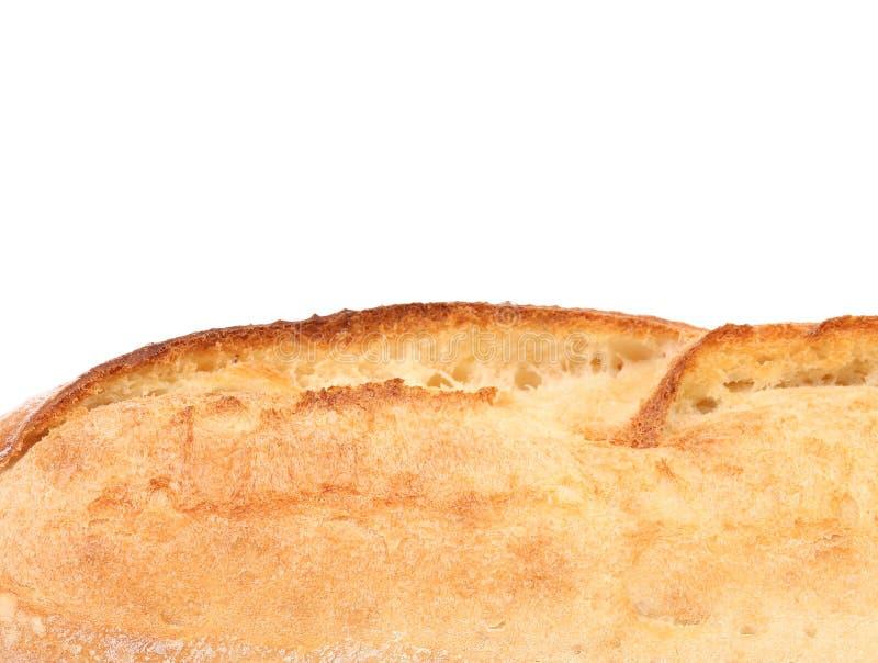 Потрескивая белый хлеб. Конец вверх. стоковые изображения rf