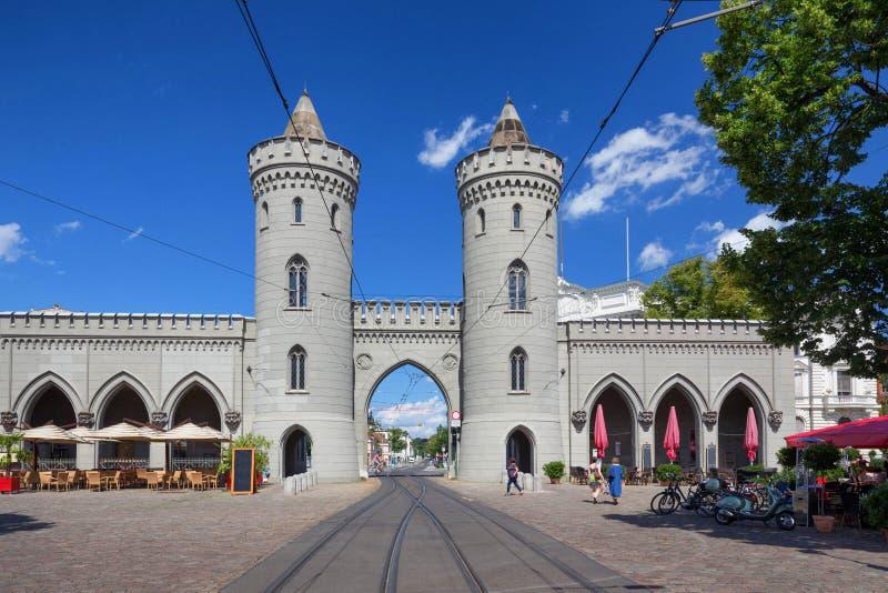 Потсдам в немецкой/исторической архитектуре стоковые изображения rf