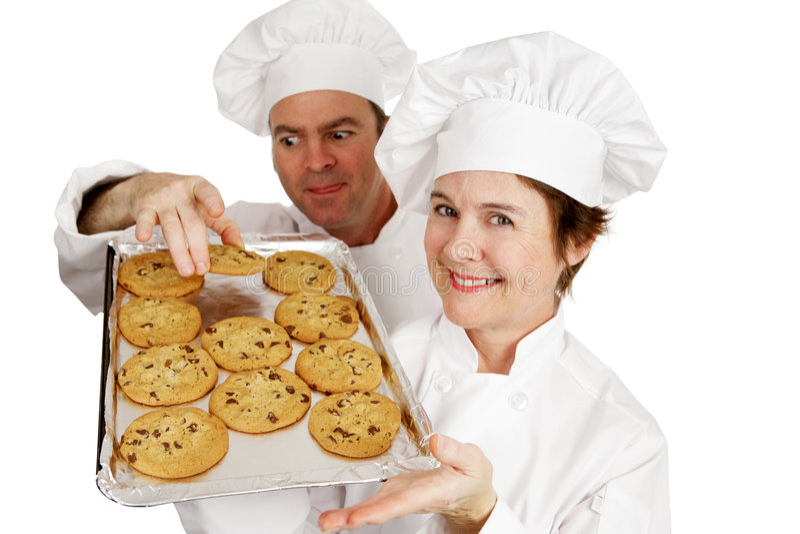похититель печенья стоковые фото