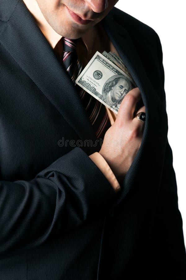 Похититель Shifty Компании стоковые изображения rf