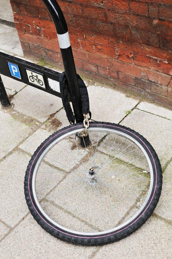 похищение велосипеда стоковое изображение rf