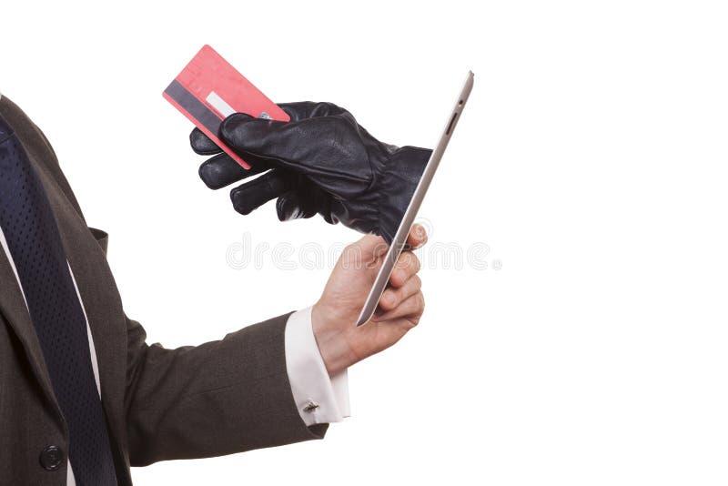 Похищение кибер стоковая фотография
