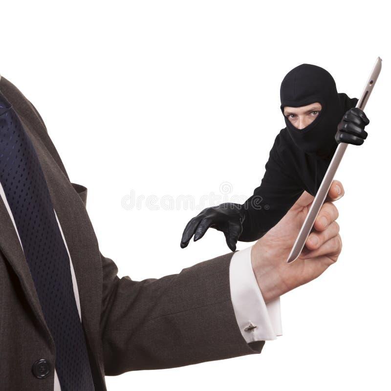 Похищение кибер стоковое фото rf