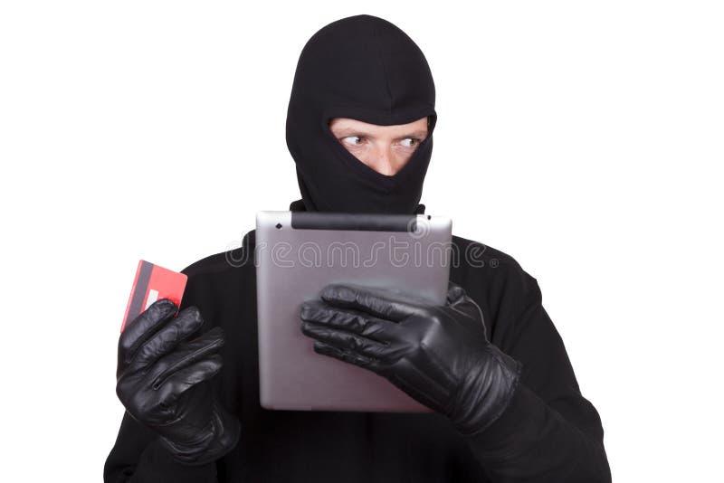 Похищение кибер стоковая фотография rf