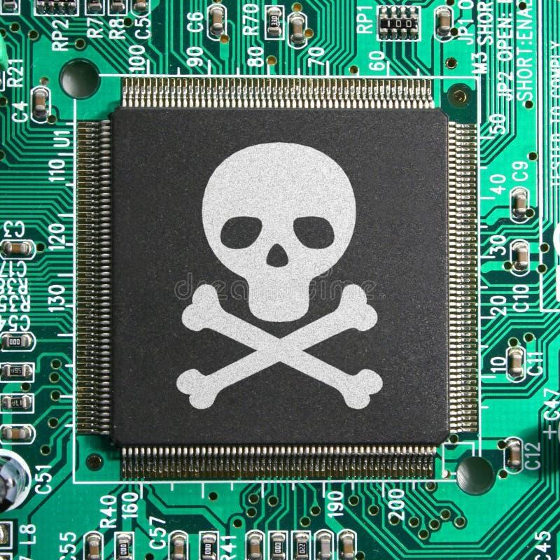 похищение пиратства тождественности хакера cyber злодеяния принципиальной схемы стоковая фотография