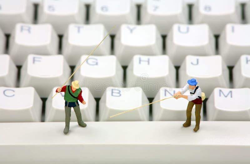 похищение тождественности принципиальной схемы он-лайн phishing стоковое изображение