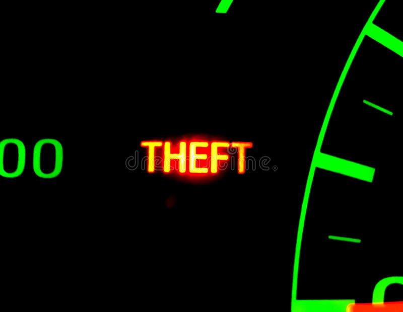 похищение nighttime автомобиля стоковое фото
