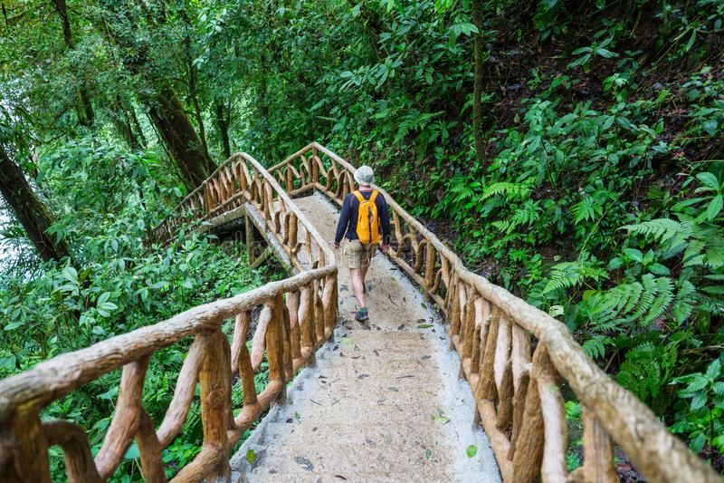 Поход в Коста-Рика стоковое фото
