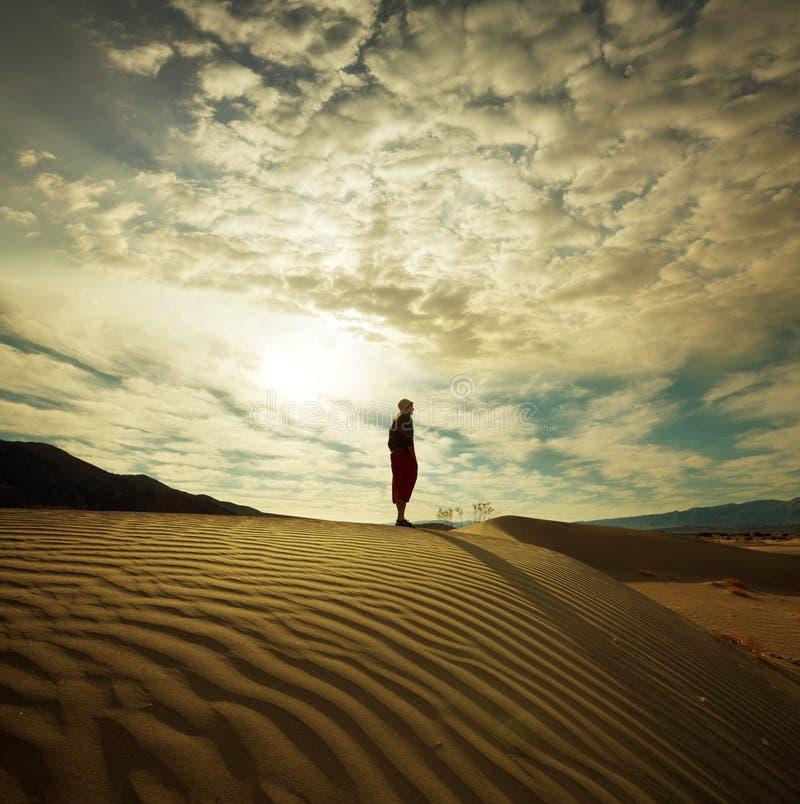Поход в пустыне стоковые фото