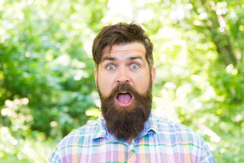 Поход и перемещение Гай ослабляет в природе лета Соединенный с окружающей средой Красивый lumberjack Борода и усик человека внутр стоковое фото