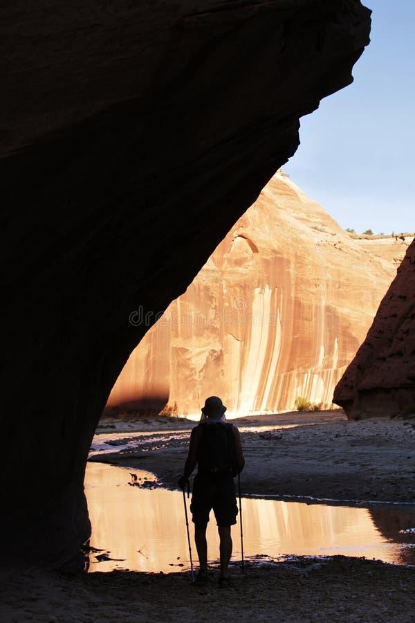 поход каньона стоковые изображения rf