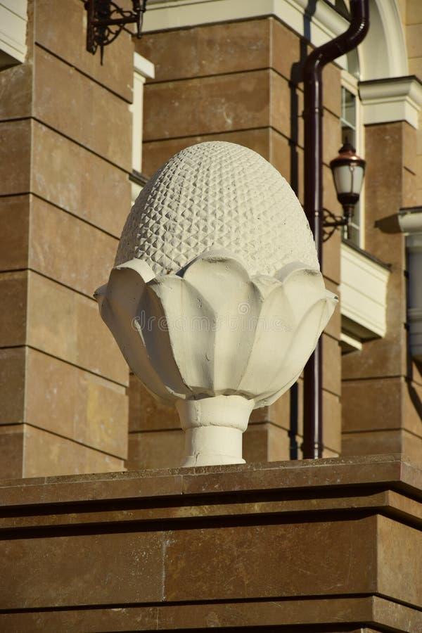 Похожий на яичк декоративный элемент стоковая фотография rf