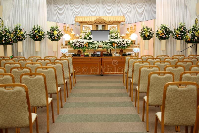 Похоронное бюро стоковое изображение