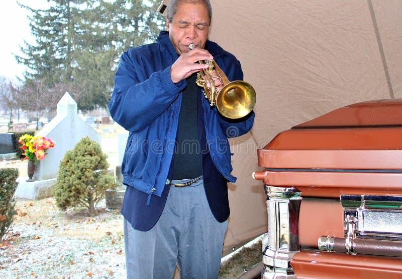 похоронный джаз стоковая фотография rf