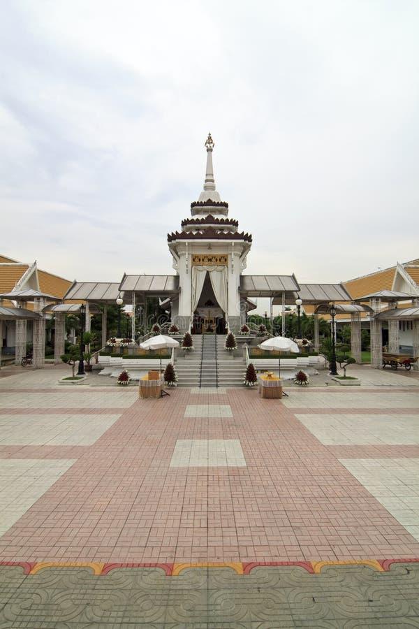 похоронный pyre тайский стоковая фотография rf