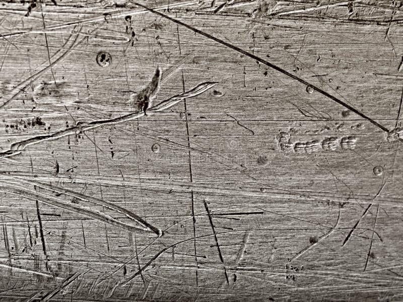 Download Поцарапанная алюминиевая плита Стоковое Изображение - изображение насчитывающей серо, грубо: 40580071