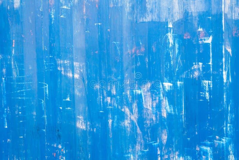 Поцарапанная голубая металлическая текстура стоковое изображение rf