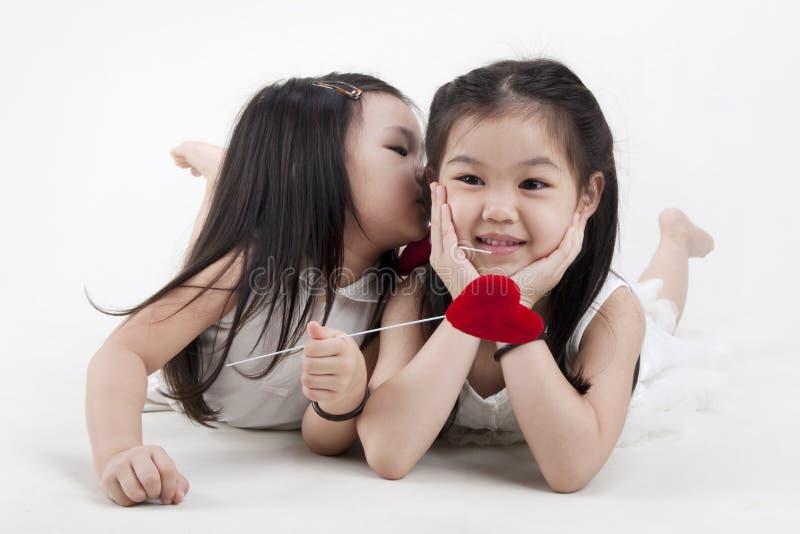 поцелуи стоковое фото rf
