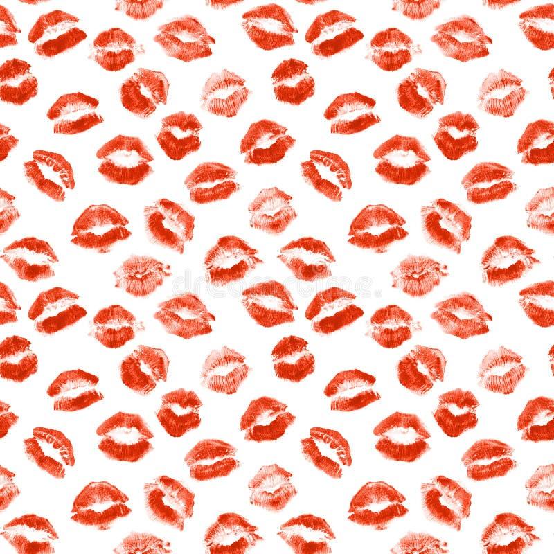 Поцелуй губной помады стоковое фото rf