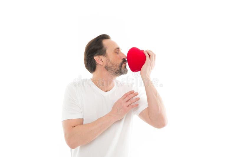 Поцелуй заполненная влюбленность сердца красный цвет поднял здоровье внимательности рукояток изолировало запаздывания Любовь Проб стоковые изображения rf
