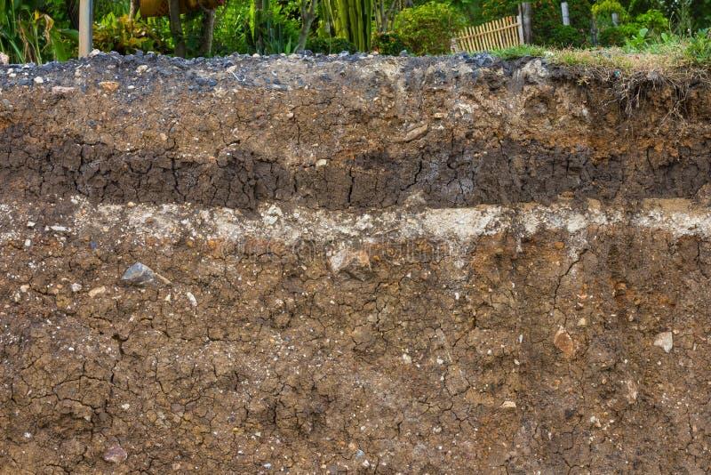 Почва под дорогой стоковые изображения rf