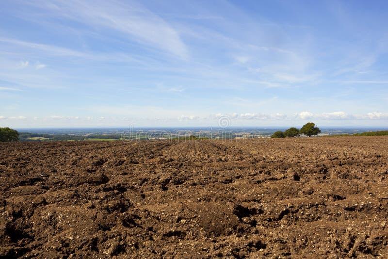 Почва плужка и Вейл Йорка стоковое изображение rf