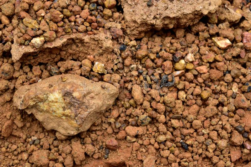 Почва Laterite стоковое изображение rf