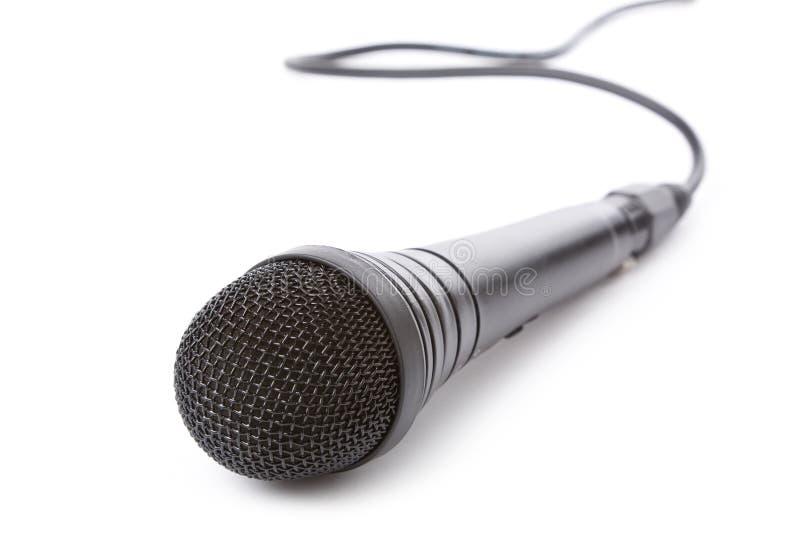 почерните микрофон стоковые фотографии rf