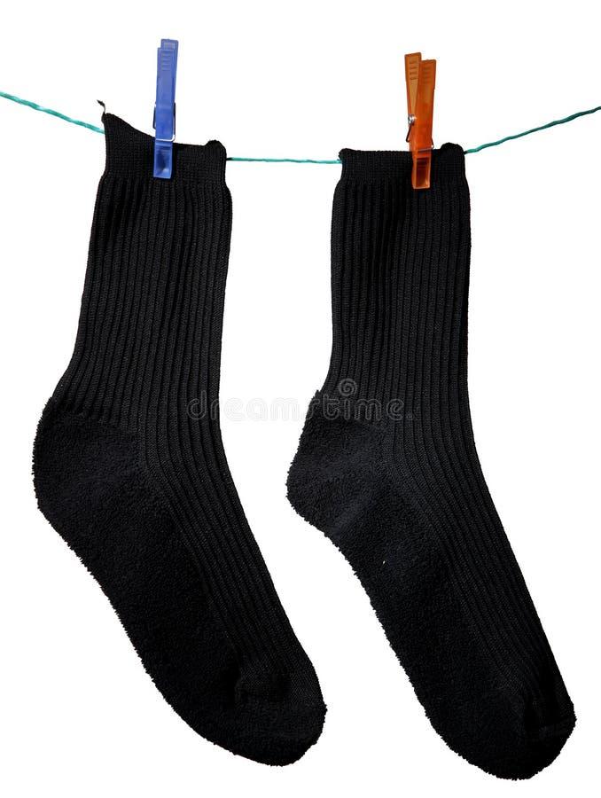 почерните носки стоковая фотография