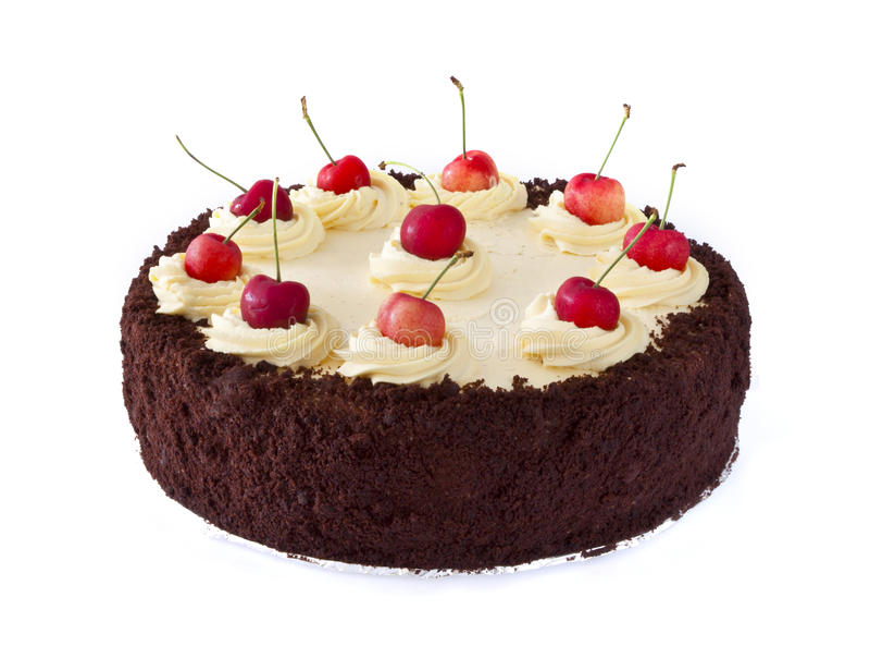почерните пущу торта стоковые изображения