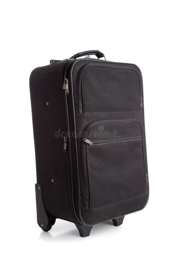 почерните чемодан багажа стоковое изображение