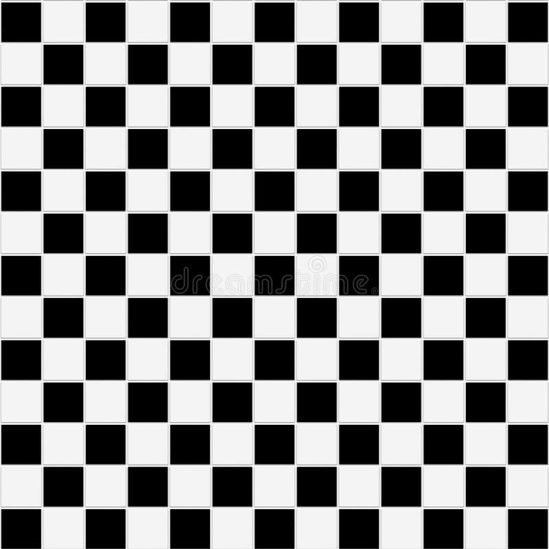 почерните checkered безшовную белизну текстуры стоковые фотографии rf