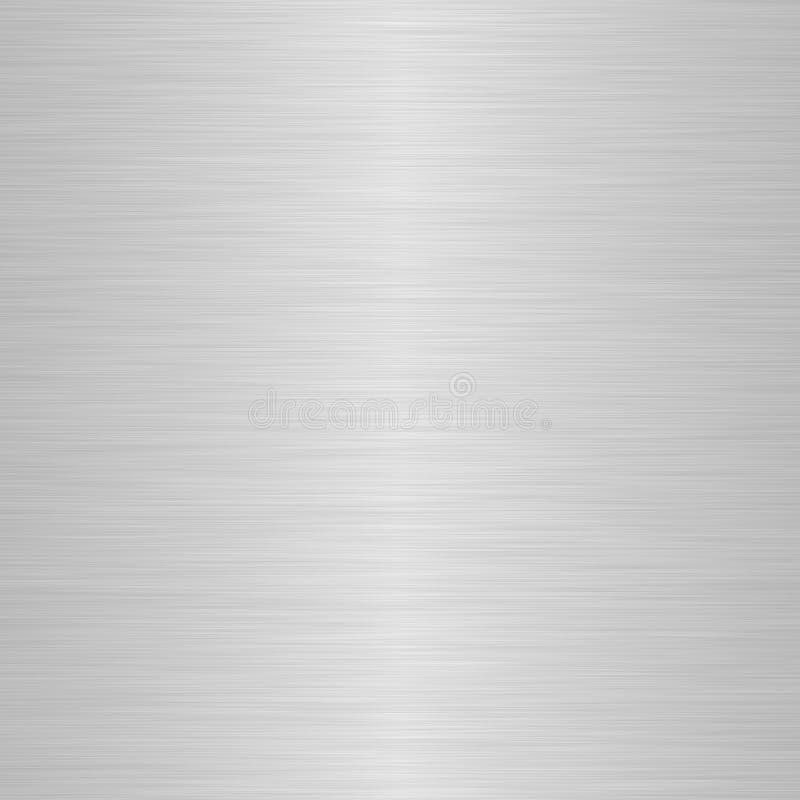 почищенная щеткой нежность серебра highlight иллюстрация вектора