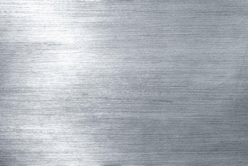 почищенное щеткой металлопластинчатое стоковое фото rf