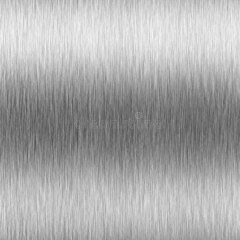 почищенный щеткой алюминием максимум контраста иллюстрация штока